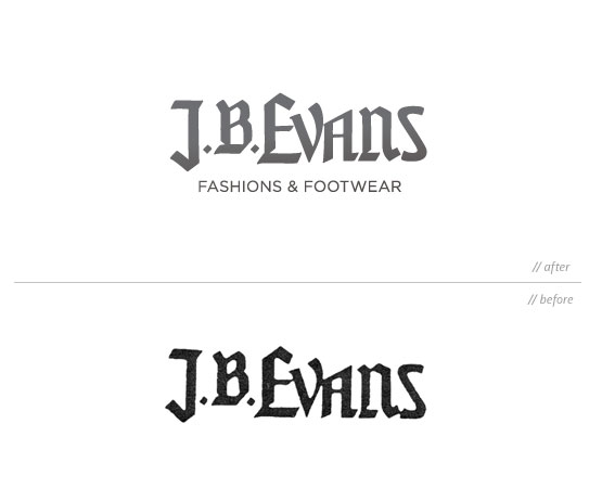 J.B. Evans logo