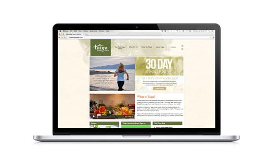 Taiga Website