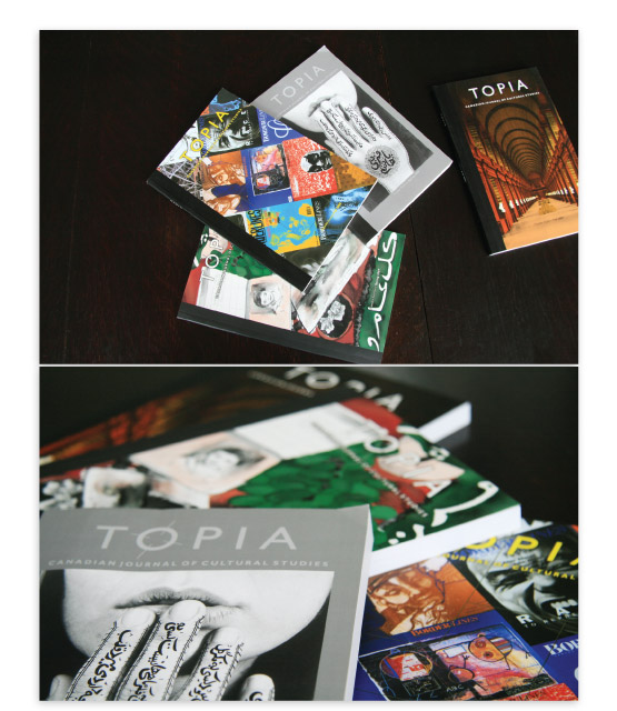 Topia covers