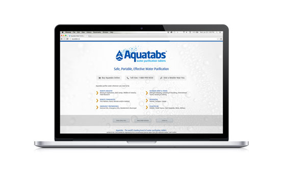 Aquatabs Website